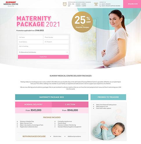 Sunway Medical Centre Maternity 2021